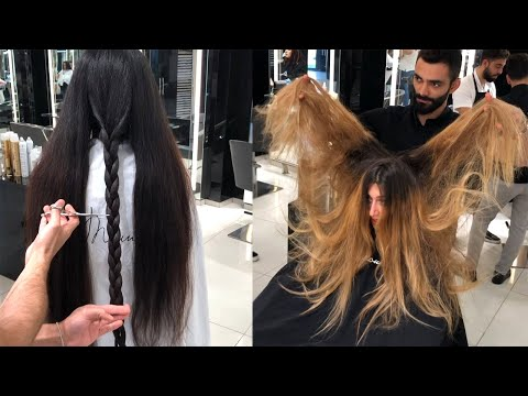 Best Hairstyles Tutorials by Mounir Salon | New Hair Color Transformations 2019