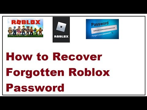 Lupa Password Roblox How To Recover Forgotten Roblox Password 2019 Youtube