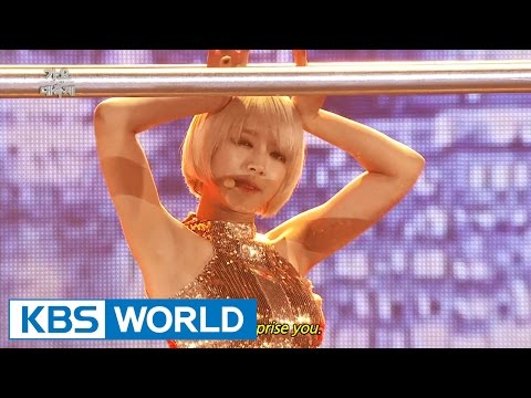 AOA - Like a Cat [2014 KBS Song Festival / 2015.01.14]