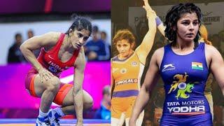Indian women wrestler workout motivation