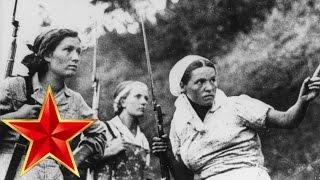 Смуглянка - Песни военных лет - ЛУЧШИЕ ФОТО - партизанки