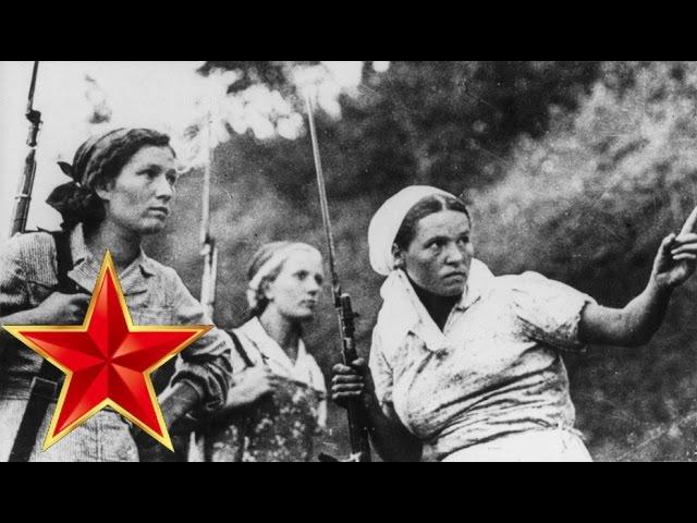 Смуглянка – Песни военных лет – ЛУЧШИЕ ФОТО – партизанки