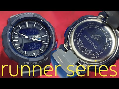 Casio BGA-240-1A2JF Runner Series Baby-G