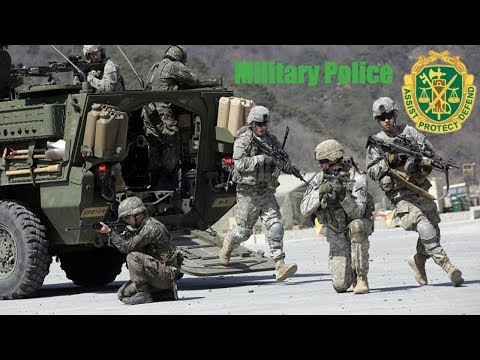 31B MOS Military Police In The United States Army