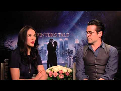 Winter's Tale  Colin Farrell & Jessica Brown Findlay