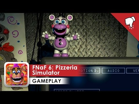FNaF 6: Pizzeria Simulator Gameplay (iOS & Android)