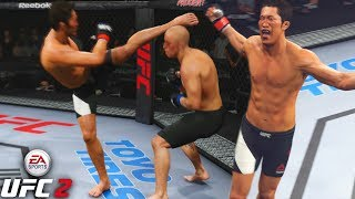 Dong Hyun Kim! When Trash Talking Goes Wrong! EA Sports UFC 2 Online Gameplay
