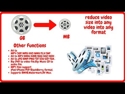 How to compress video files - reduce video size into any video format