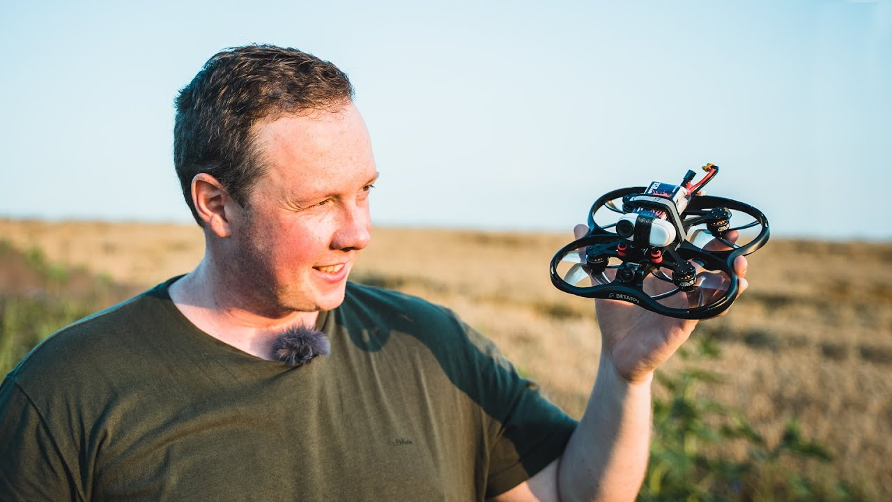 FPV-Drohne für Anfänger - BetaFPV Pavo 30 Test + Insta360 Go 2 Footage +Verbinden Brille & Steuerung