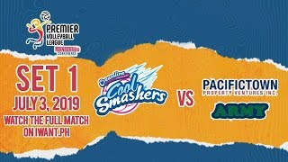 SET 1 | Creamline vs. PacificTown-Army | July 3, 2019 #PVL2019 (Watch full game on iWant.ph)