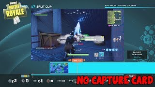 "How To Save, Edit, & Share ""FORTNITE"" & Other PS4 Games Gameplay - NO CAPTURE CARD NEEDED! *EASY*"