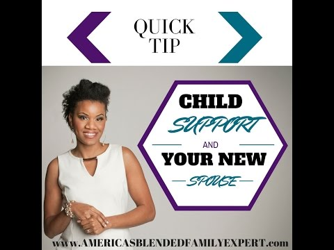 Child support & your new spouse