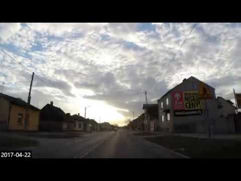 #9 Car travel Poland - timelapse