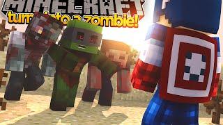 Minecraft Adventure - TINY TURTLE TURNS INTO A ZOMBIE!?