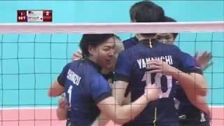 【DAZNダイジェスト】天皇杯準決勝・東レアローズ×パナソニックパンサーズ