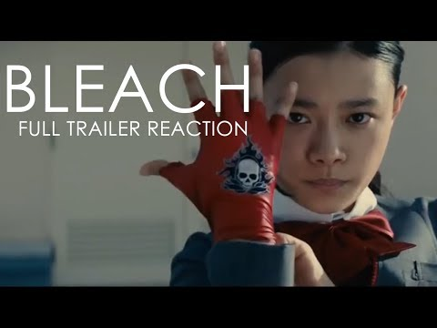 BLEACH Live Action Movie FULL TRAILER Reaction!!!