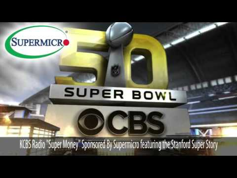 SMCI Sponsors KCBS Super Money Series and Features Stanford Geophysics Super Story
