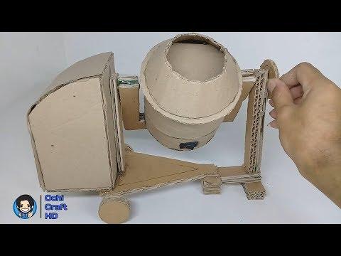 Cara Membuat Miniatur Molen Listrik Dari kardus