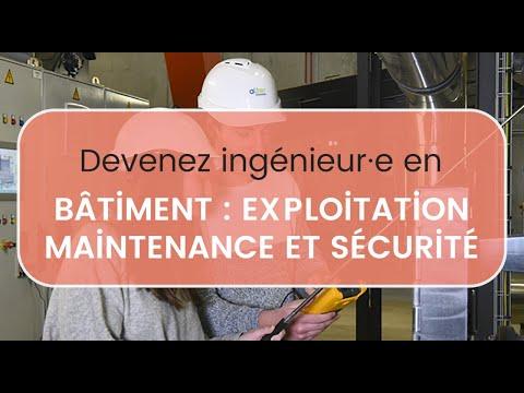 Devenir Ingénieur·e en Bâtiment: Exploitation, Maintenance & Sécurité - Polytech Angers