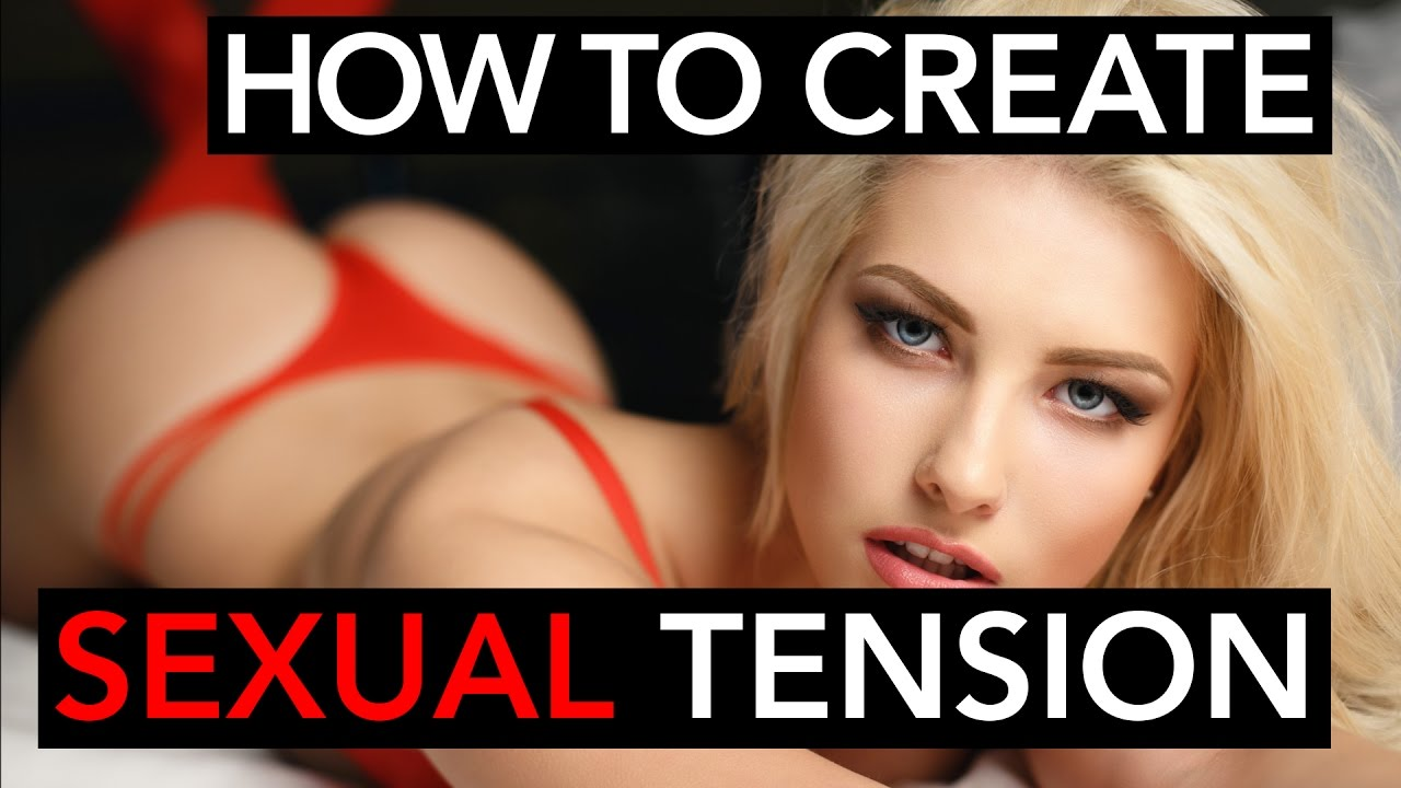 Ways to relieve sexual tension