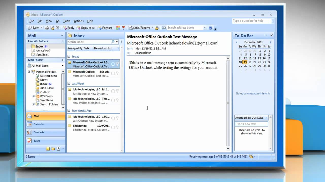 How To Set Up Multiple E Mail Accounts In MicrosoftR Outlook 2007 On