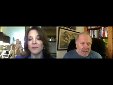 Marianne Williamson Feb 2017 on Rob Kall Bottom Up Show We talk about Sister Giant