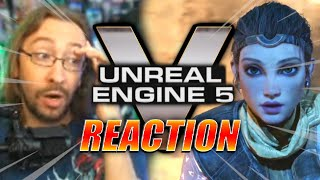 MAX REACTS: Unreal Engine 5...This Is Next-Gen