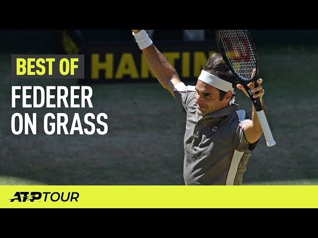 10 Incredible Federer Points On Grass | THE BEST OF | ATP