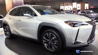 2019 Lexus UX 250h - Exterior and Interior Walkaround - 2018 New York Auto Show