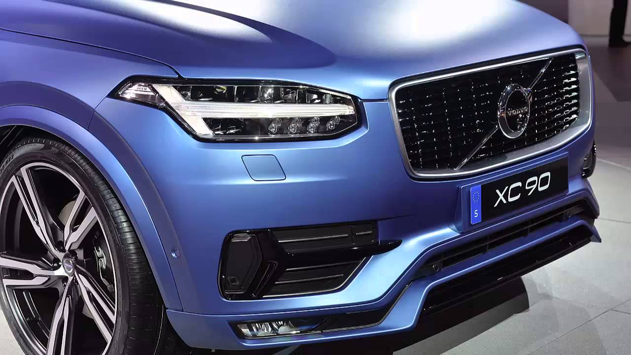 Volvo XC90 Polestar REVIEW With 350 HP - YouTube