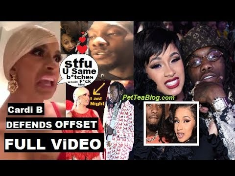 """Cardi B Defends Offset, He Pops Up on Stage BEGGING for her Back """"Y'all Would Smash tho"""" 👊 Video Mp3"""