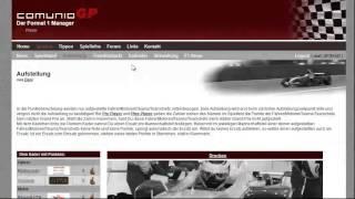 Comunio Tutorial: ComunioGP - Der F1 Manager