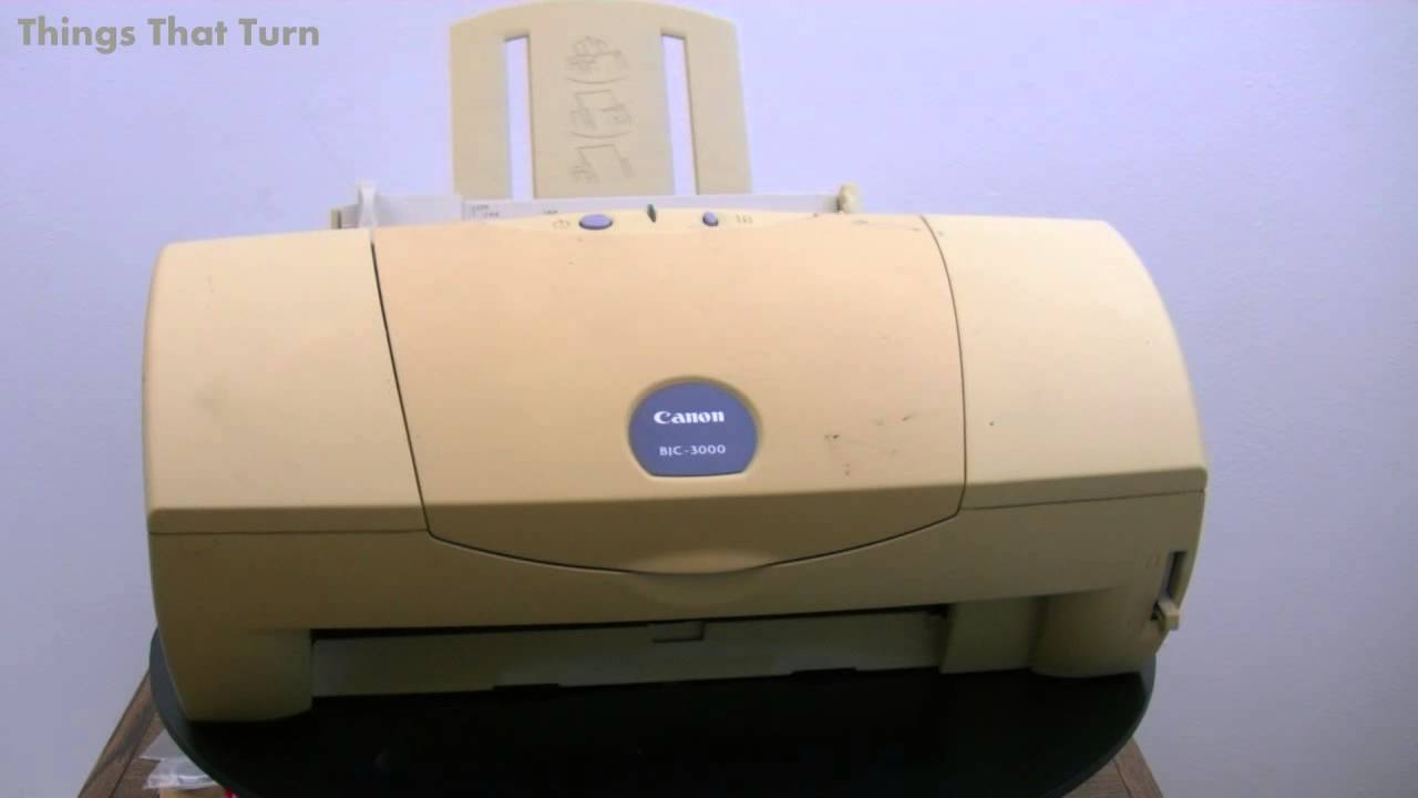 Canon BJC-3000 Printer Driver for Mac
