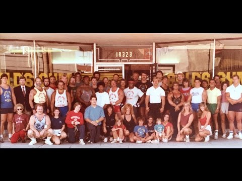 Gold's Gym Reseda - A Visit Back To 1986