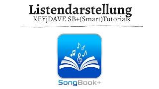 (ST) SongBook+ Listendarstellung