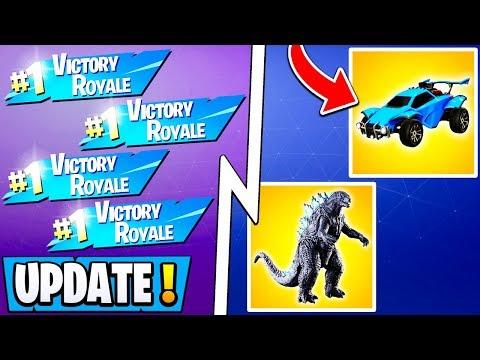 *NEW* Fortnite Update!   Free Wins Glitch, Unlimited XP, 2 Events w/ Rewards!