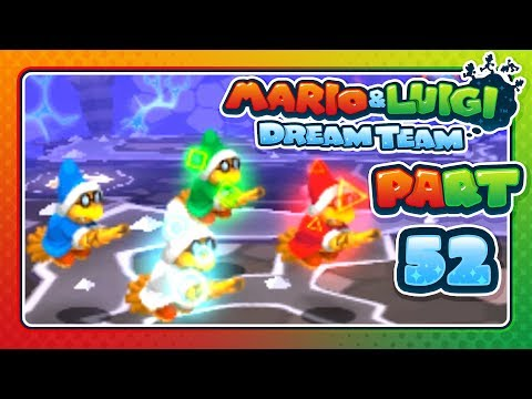 Mario & Luigi: Dream Team - Part 52 - KAMEK THE MASTER TROLL!