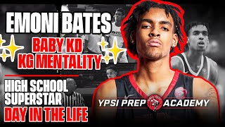 Emoni Bates is a Baby Kevin Durant with a KG Mentality, Life at Ypsi Prep | SLAM Day in the Life