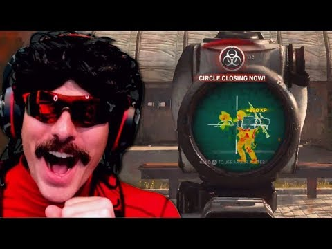 DrDisrespect Tries Out Aim Assist In COD Warzone!