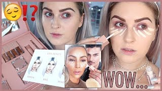 KKW Beauty Concealer Kits Collection 💣HONEST FIRST IMPRESSIONS REVIEW