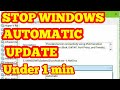Fix Stop windows 10 automatic updating Problem Permanently 2018 Higher Ping And Speed hp,dell,acer