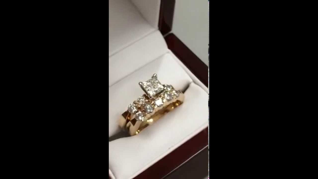 Superieur KAY JEWELERS  1ct. Princess Cut 14k Wedding Set W/ Papers U0026 Warranty!    YouTube