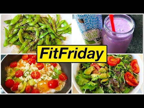 HEALTHY FOOD DIARY What I Eat to Lose Weight #FitFriday