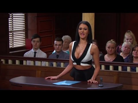 Judge Rinder gets mad at the girls