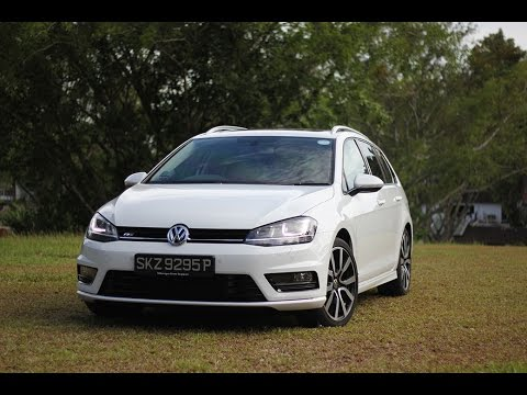 volkswagen golf variant r line 1 4 tsi youtube. Black Bedroom Furniture Sets. Home Design Ideas