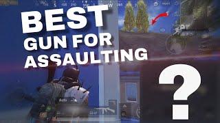 BEST GUN FOR ASSAULT IN PUBG MOBILE | CLOSE COMBAT | BEST WEAPON | PUBG MOBILE esports