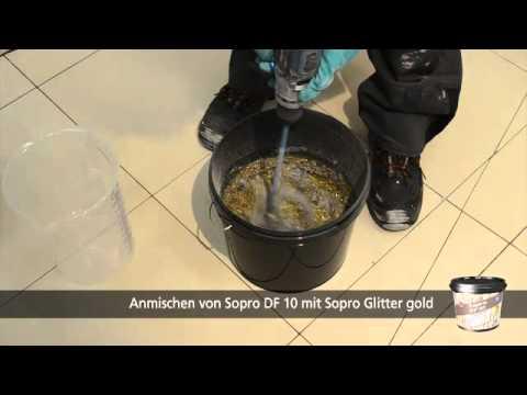 Sopro Df 10 Designfuge Flex Dauerhaft Schon Und Hygienisch Youtube