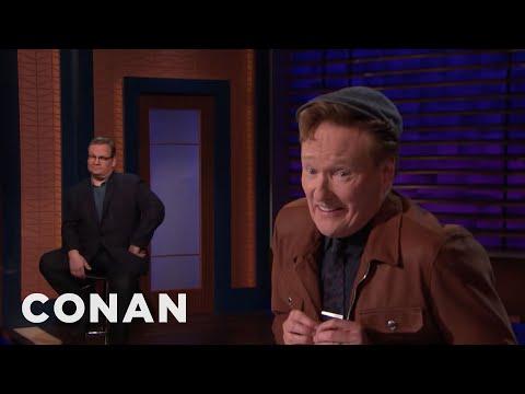 Conan Can't Resist A Depression-Era Cap