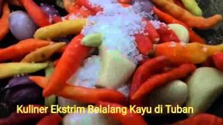 Kuliner Ekstrim Belalang Kayu di Tuban