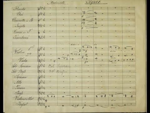 Anton Bruckner - Mass No. 3 in F minor,  WAB 28 (1868 Manuscript score)